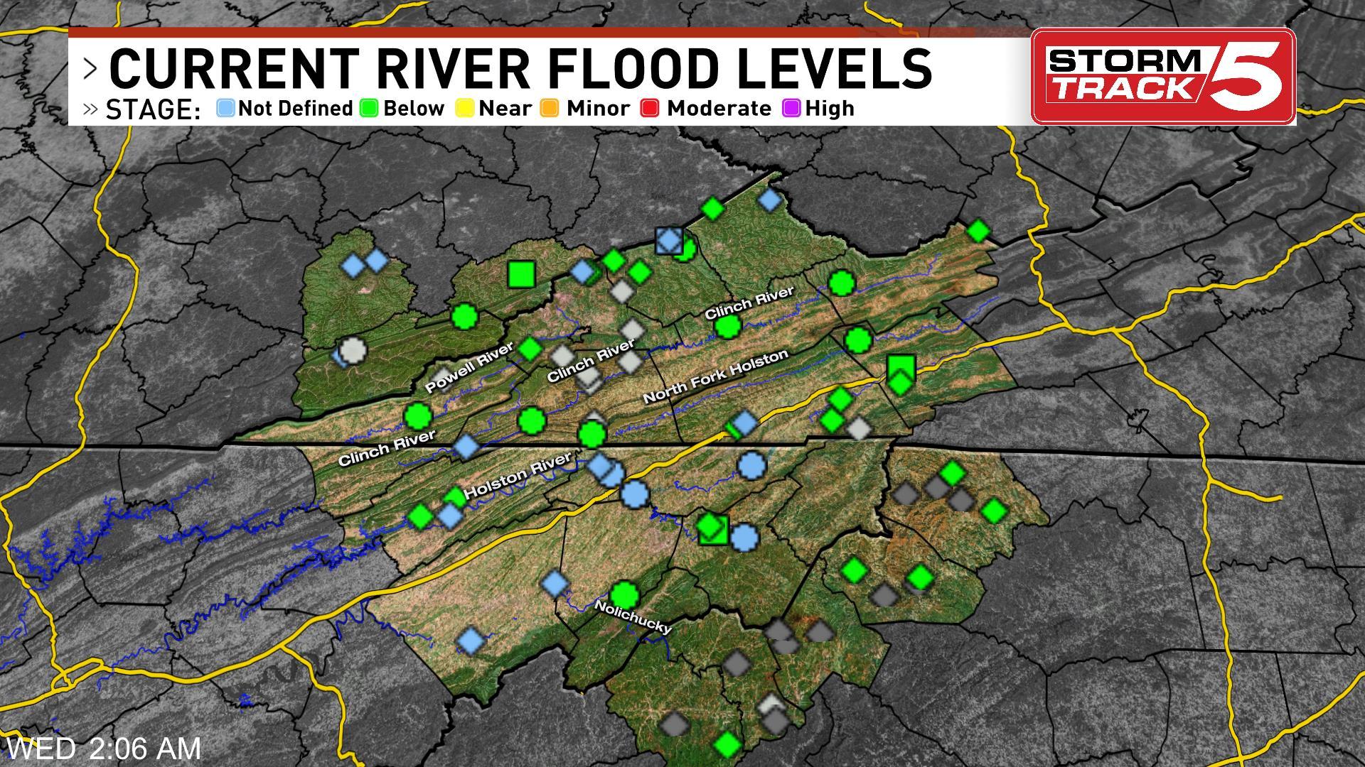 River Levels | WCYB