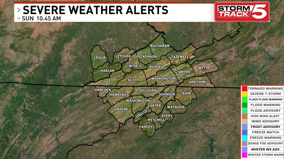 Severe Weather Alerts and Tweets | WCYB