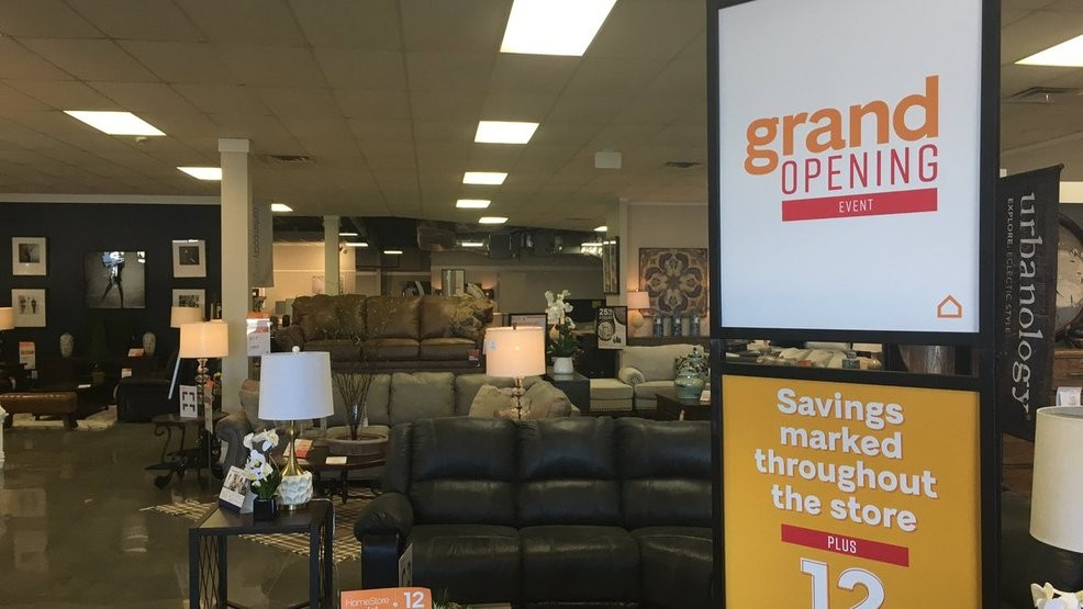 A New Location For Ashley Furniture And Home Store Is Right Around