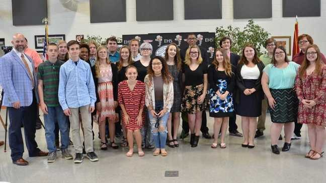 Elizabethton High School students release profile of