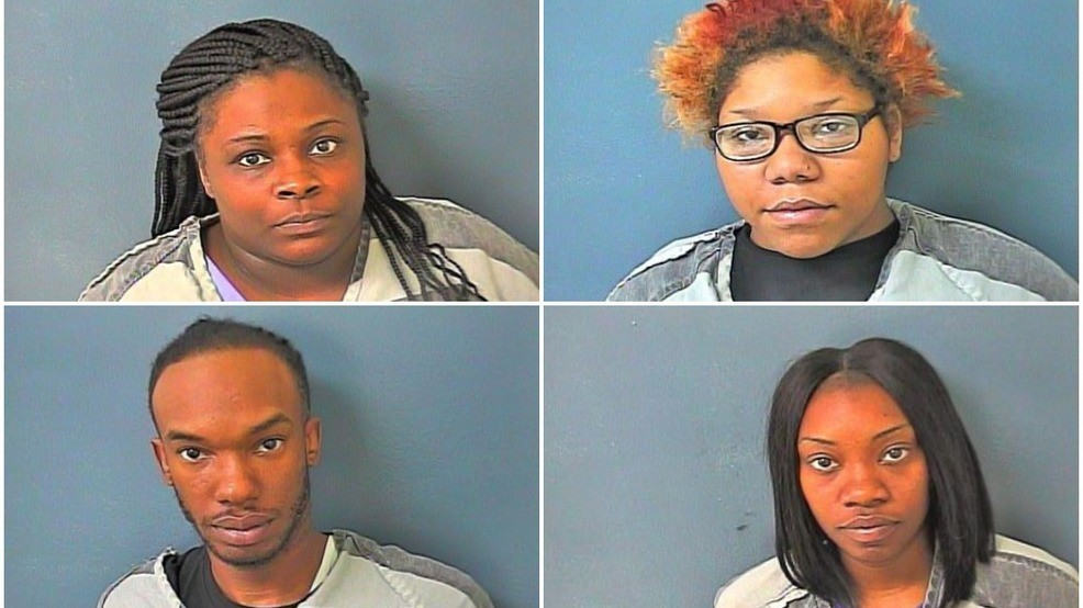 Four charged with shoplifting $20,000 worth of merchandise from Tanger Five Oaks Mall