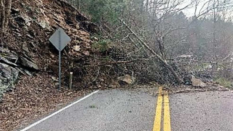 Landslide closes portion of Hwy 19W in Unicoi County   WCYB