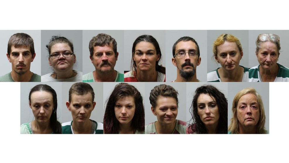 20 people arrested in joint roundup in Carter County and