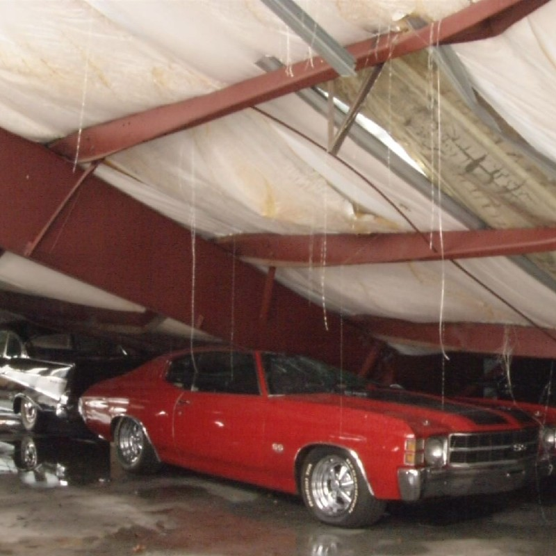 antique car collection crushed in storm wcyb antique car collection crushed in storm