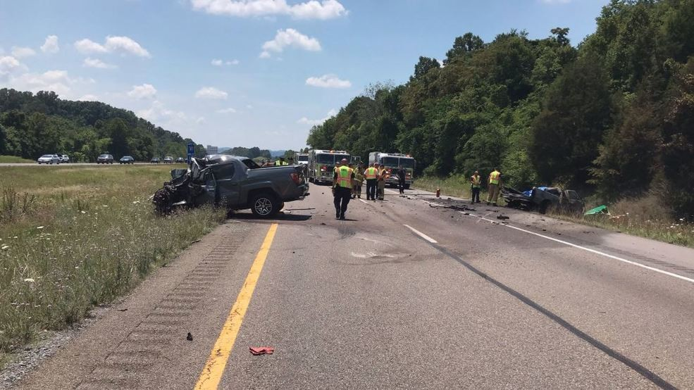 Traffic diverted on Interstate 81 due to serious multi