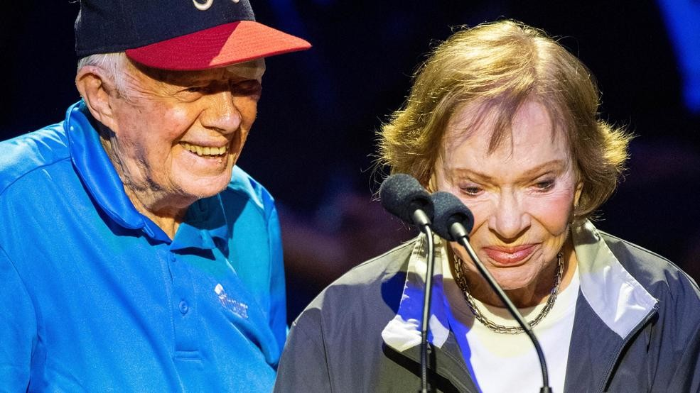Jimmy And Rosalynn Carter Now The Longest Married Presidential Couple Wcyb
