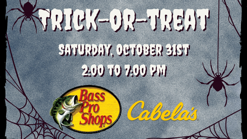 Bass Pro Halloween 2020 Photos Bass Pro Shops Cabela's offering Halloween trick or treating | WCYB